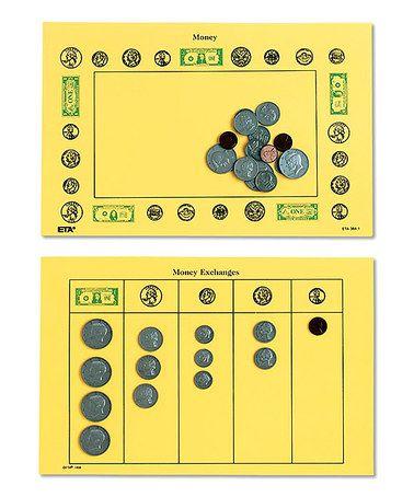 Money Mat - Set of Five #zulily #zulilyfinds