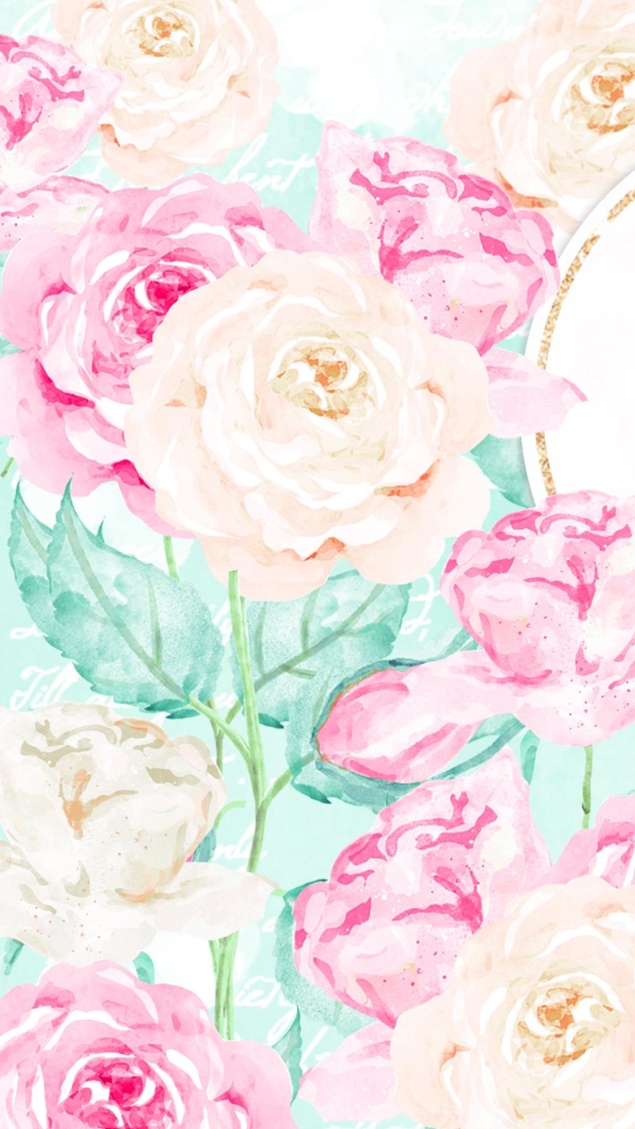 Floral Background Pinterest