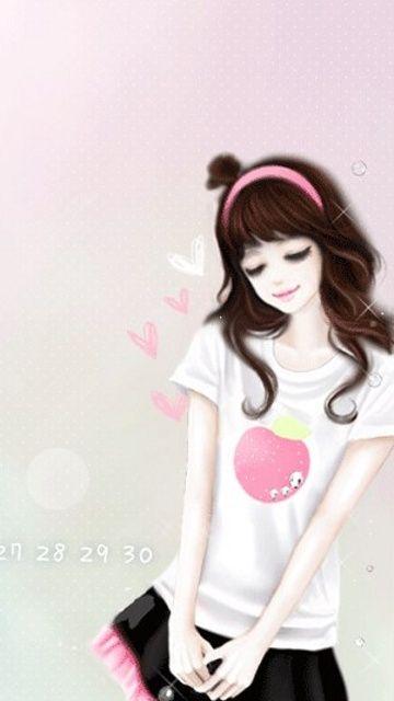 Enakei Parque Suran Cute Cartoon Girl Cute Girl Wallpaper Girl Cartoon Cool cartoon woman wallpaper images