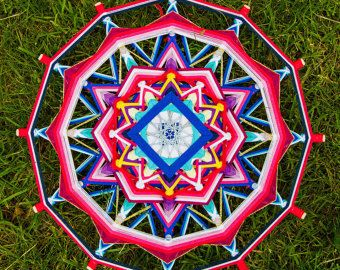 Mandala Ojo de Dios Love