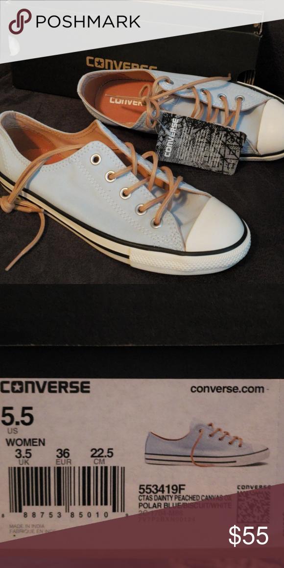 Converse Size 5.5 NWT | Converse dainty