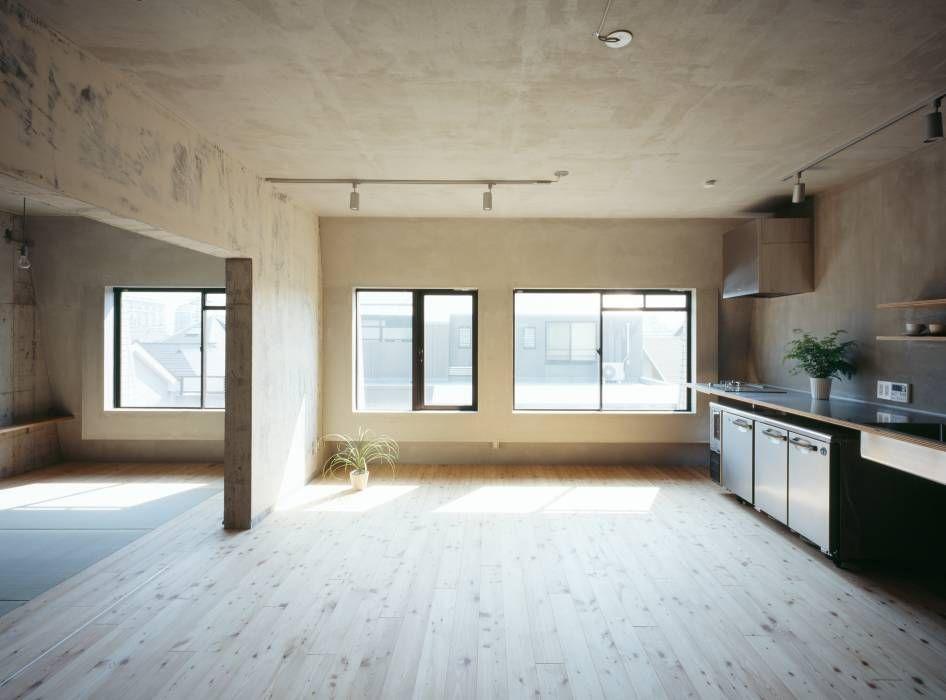 Sugawahouse ラスティックデザインの キッチン の 苅部 寛子建築設計