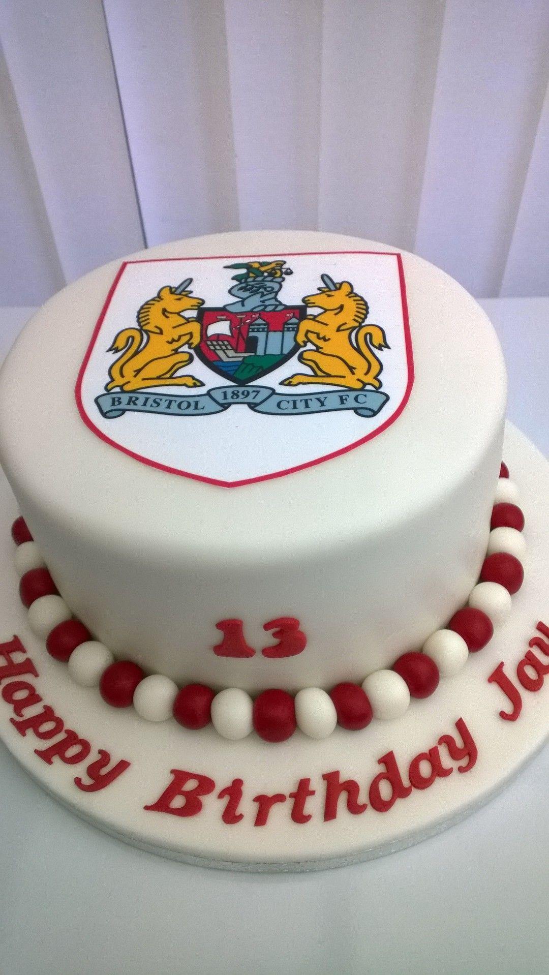 Bristol city football club birthday cake cake football