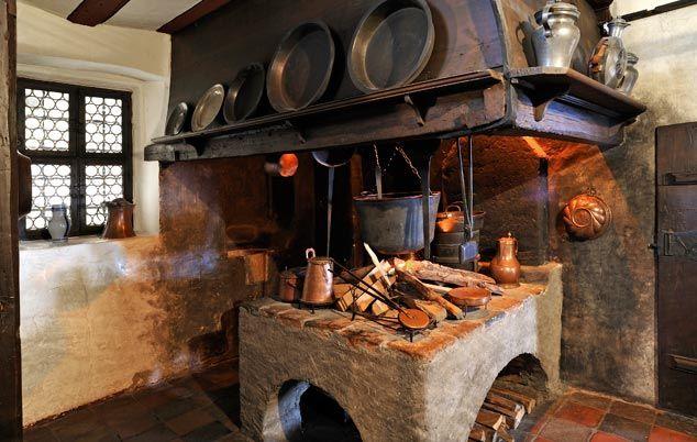 Mittelalter Küche   Ronneburg Mittelalterliche Kuche Fundamental Ancient Nomad