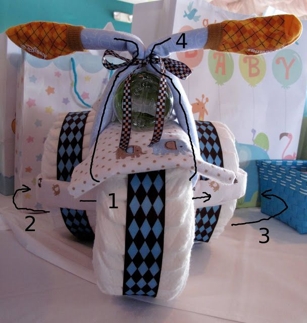 Diaper Tricycle Tutorial How To Make A Diaper Trike With