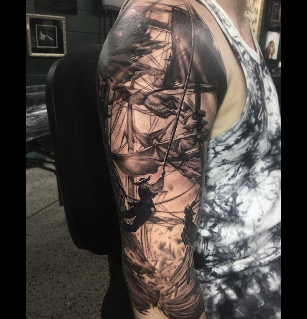 83 Awesome Y G Tattoos Cool Tattoo Designs: Pirate Tattoo Sleeve, Tattoos Y
