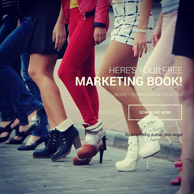 Put your best foot forward & step out in style.  Your brand is dictated as much by how you present yourself as any other piece of collateral you use.  Get your free marketing book and be sure that your personalbrand makes the right statement.  Head to: www.benangel.co now to download your free 300 page marketing book.
