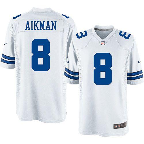 sports shoes 7d1a6 ce160 Men's Nike Dallas Cowboys Legends Troy Aikman Game Throwback ...