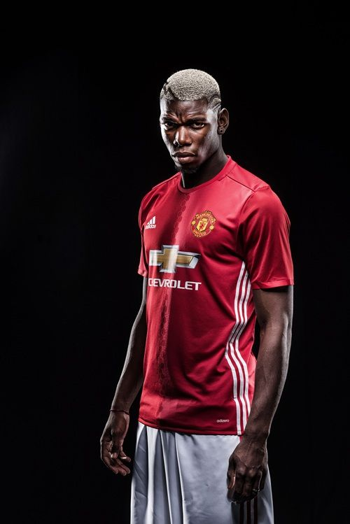 f32e4ce48 Gallery: Paul Pogba in Manchester United kit - Official Manchester United  Website