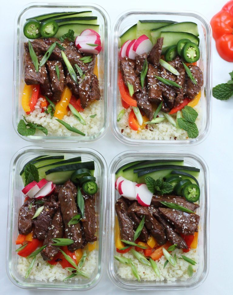 Korean Beef Bowls for Quick Meal Prep: Paleo, Whole30 ...