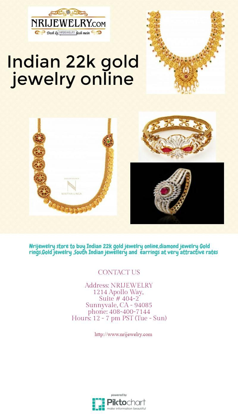 The trendy Indian 22k gold jewelry online has been increasing in