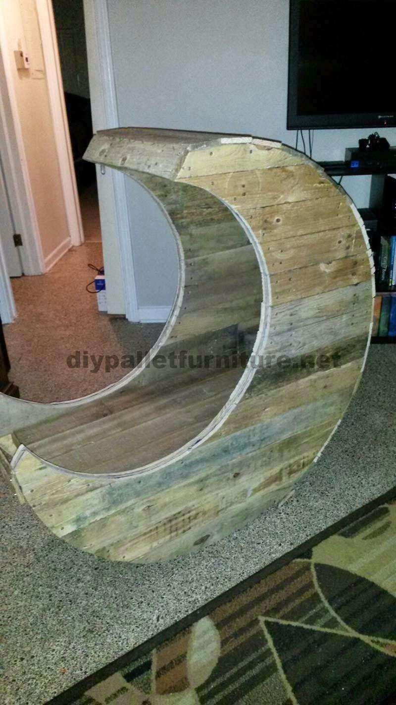 muebles de palets como hacer una cuna con palets paso a paso