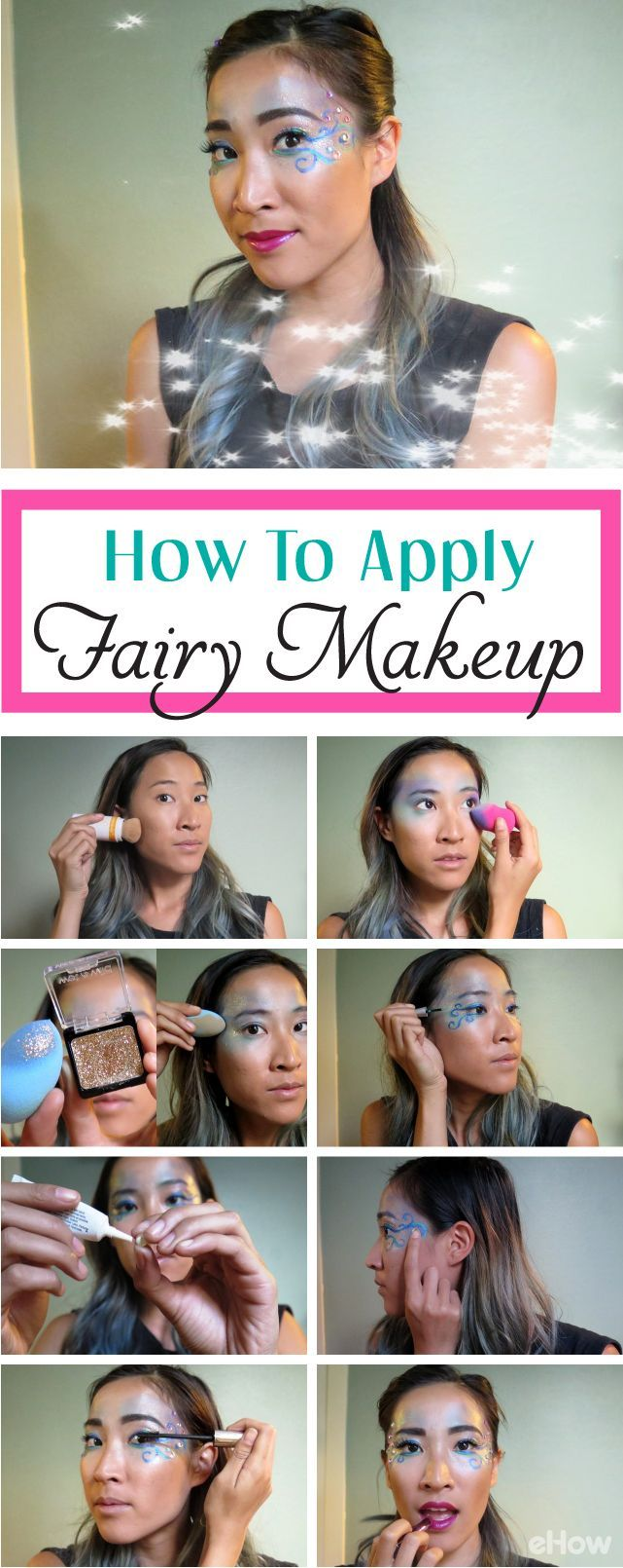 Simple to do yourself fairy makeup perfect for any fairy costume simple to do yourself fairy makeup perfect for any fairy costume or even fun festival design you can transform yourself with these fun shimmer solutioingenieria Gallery