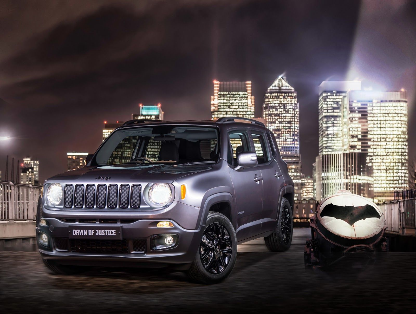 Jeep Renegade Dawn Of Justice Priced From 19 495 In The Uk Jeep Renegade Jeep Uk Jeep