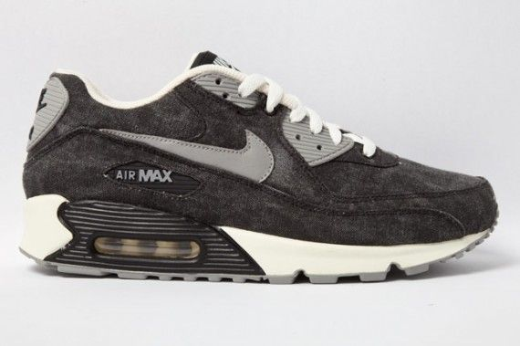 Nike Air Max 90 Black Canvas Sneakernews Com With Images Nike Air Max Nike Air Max 90 Nike Air Max 90 Black