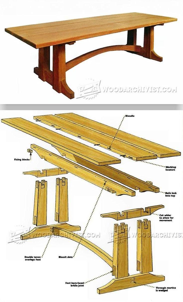 9 Foot Farmhouse Table Plans
