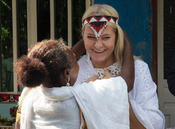 Princess Mette-Marit and Prince Haakon visited Oromia Region