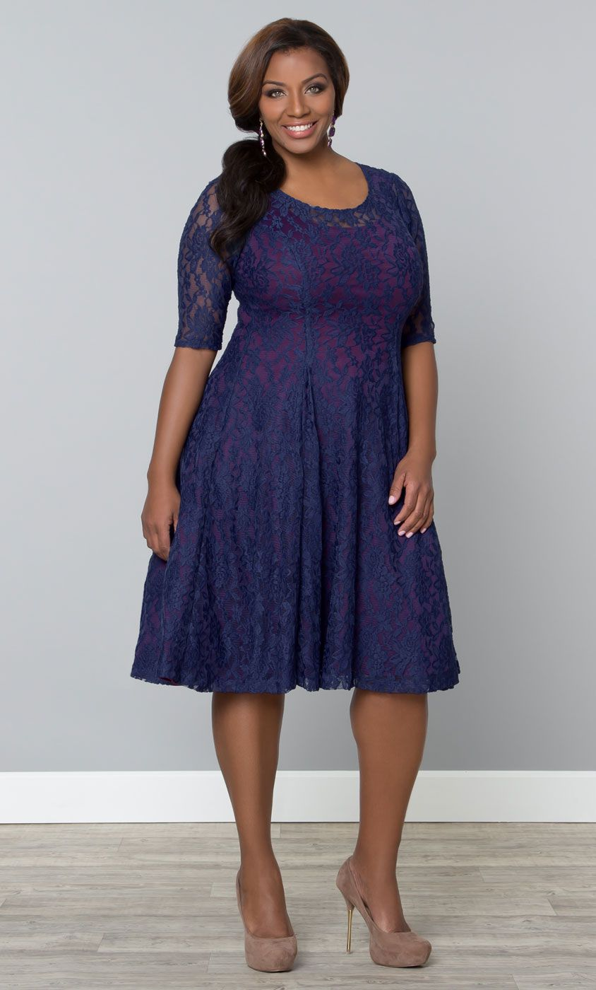 82dcd680050 Our plus size Sweet Leah Lace Dress   Beautiful style