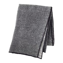 Ikea Strimlonn Throw Made Of Pure New Wool The Throw Is Soft To The Touch And Durable Ikea Decor Scandinavian Textiles Cute Home Decor