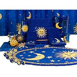 Celestial Bathroom Set Bing Images Moon Decor Decor Sun Moon Stars