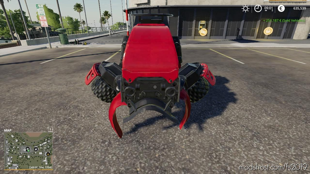 Download Waratah Fixed Processor Head Mod For Fs 2019 In 2020