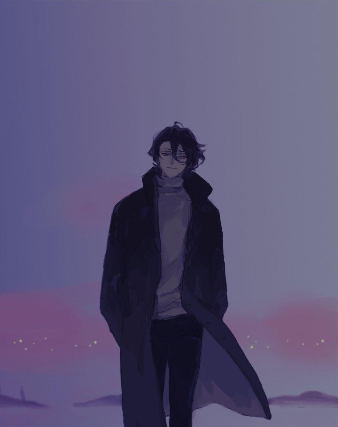 Leave Me And Go Leave Anime Boy Anime Art Aesthetic Anime