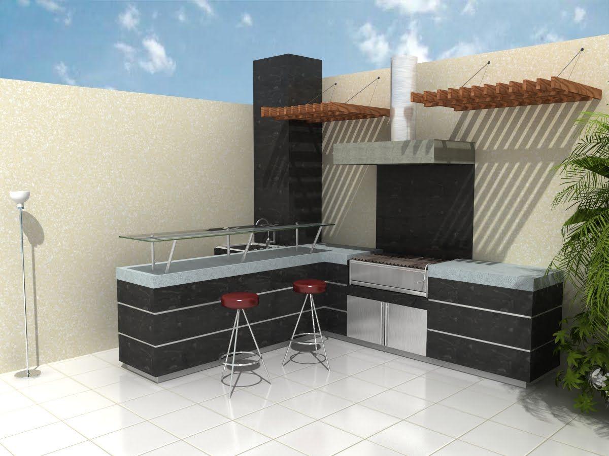 Pin de m nica valdivia en parrillas pinterest parrilla for Accesorios para terrazas