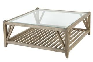 Seville Square Oak Coffee Table Shown In Aged Grey Oak Finish Coffee Table Oak Coffee Table Table