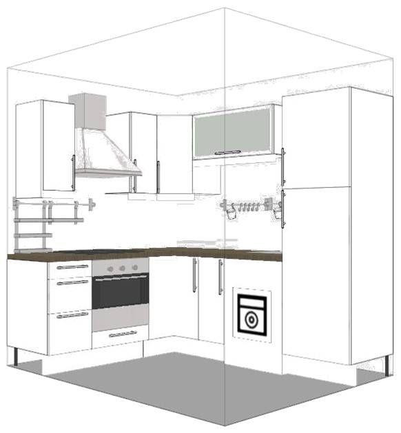 studio kitchen dimensions  google search  studio kitchen