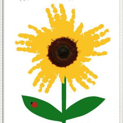 Mother S Day Card Ideas Using Sunflowers For Kids
