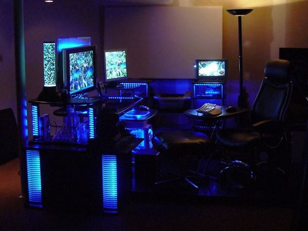 custom gaming desk Google Search DIY