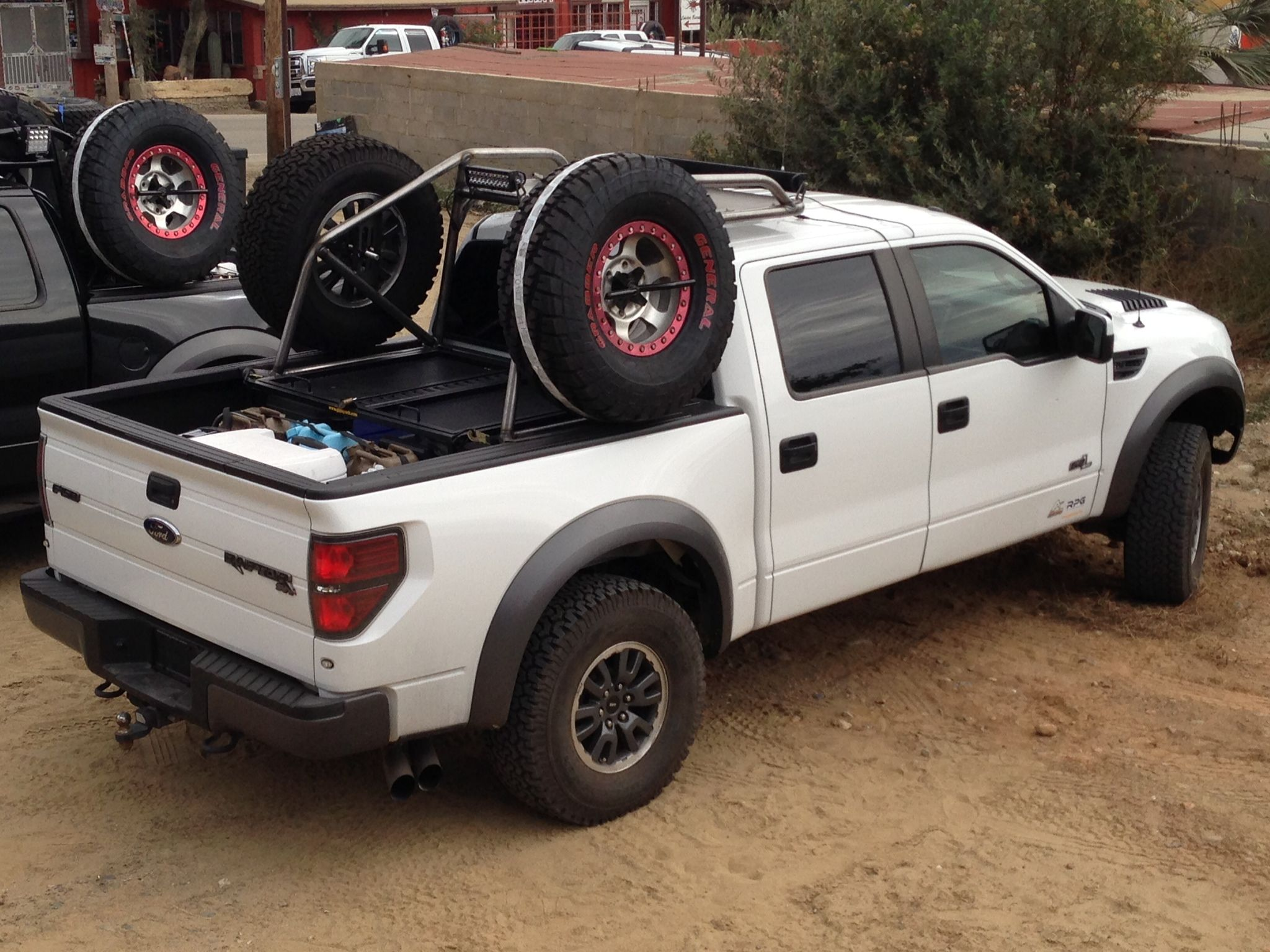 home chase truck ford raptor f 150 chase rack | Chase ...