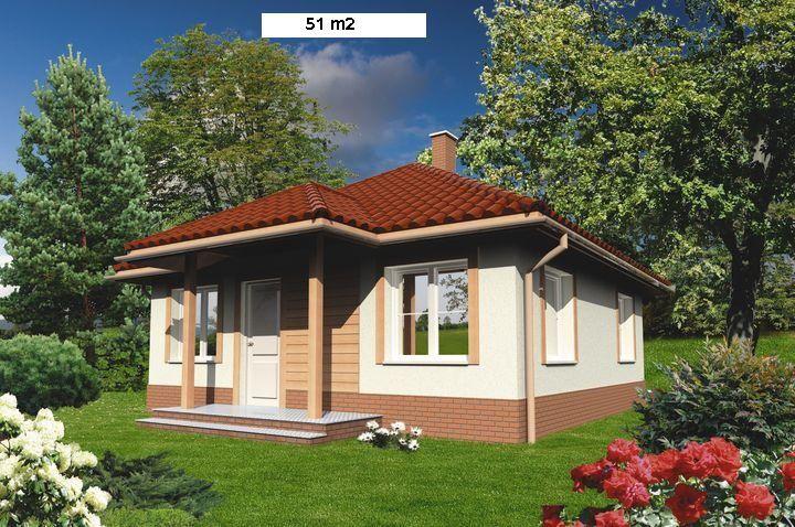 Casa peque a de campo fachadas de casas pinterest - Casas prefabricadas pequenas ...