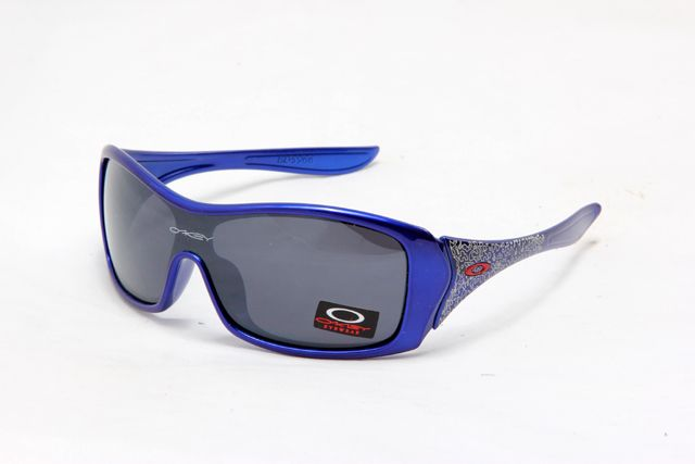 oakley women's forsake sunglasses blue