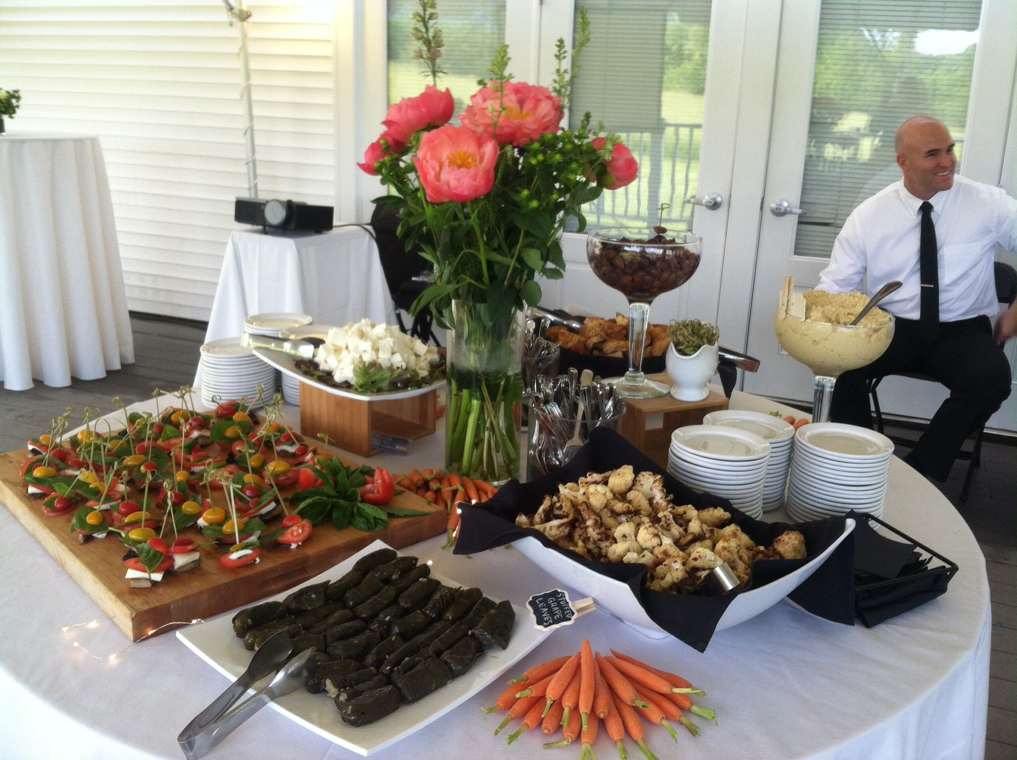 Appetizer table appetizers table event catering catering