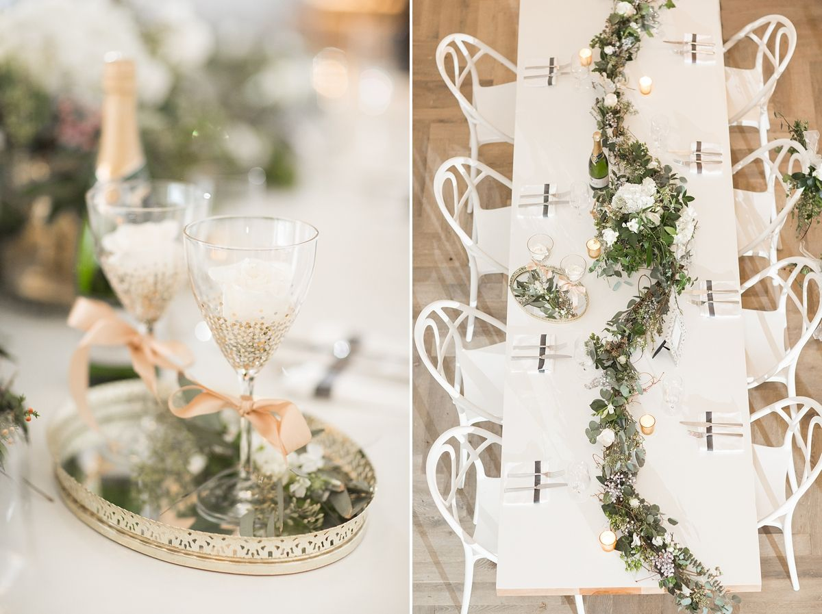 Wedding Details. Maggie Bride Brittany wore Simone by Sottero and Midgley at her Black Tie New Year's Eve Wedding in Richmond, Virgina   Kately James Photographyaphy