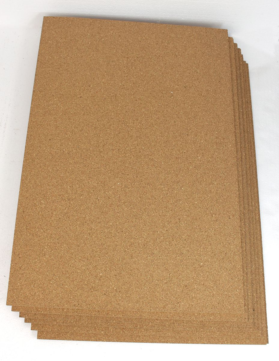 Our 6mm Cork Floor Underlayment Comes In Its Natural Raw