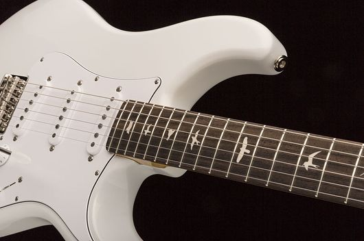 Prs Announced Today The Release Of John Mayer S Silver Sky Signature Prs Alder Body Maple Neck Rosewood Fingerboard 7 Prs Guitar Guitar Guitar Pickups