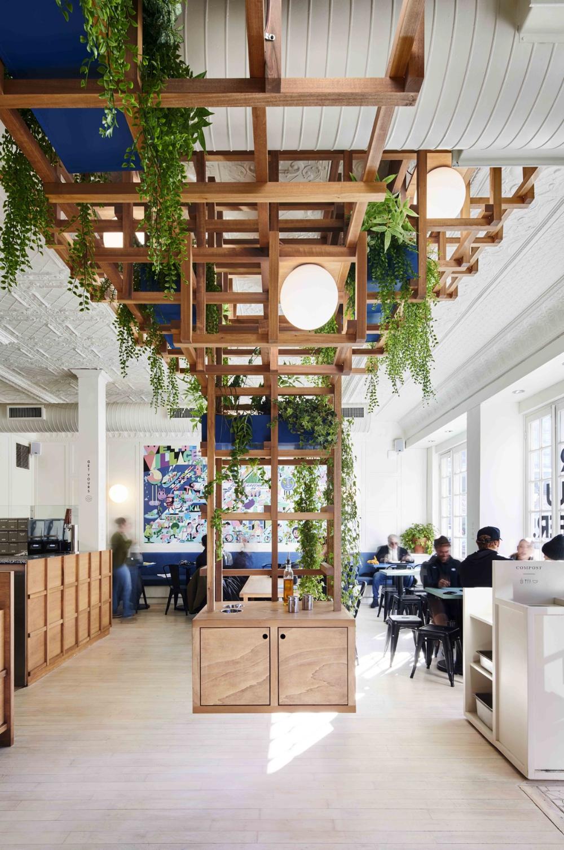 The Village Den Café in Greenwich Village features 3D