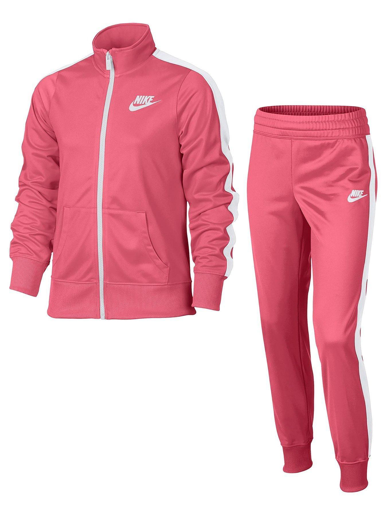 d989fd8902 Nike Older Girl Poly Tracksuit | littlewoodsireland.ie Nikes Girl, Girls  Sportswear, Adidas