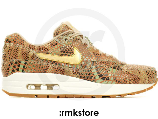 Nike Wmns Air Max 1 YOTS QS Year Of The Snake Linen Gold (598218-