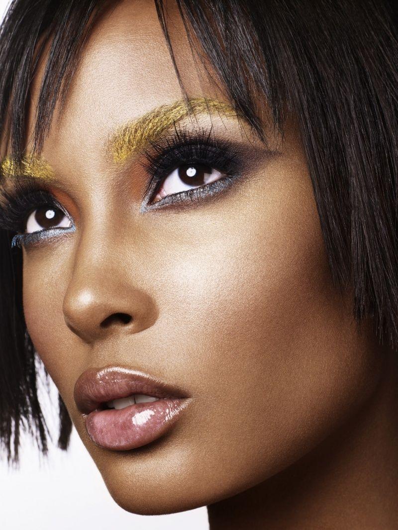 Gold Eyeshadow Black Women had heard that lighter