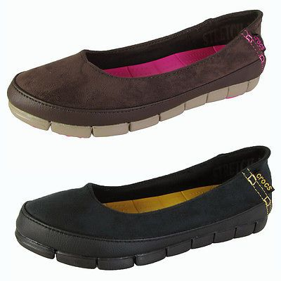Crocs Womens Stretch Sole Microsuede Loafers