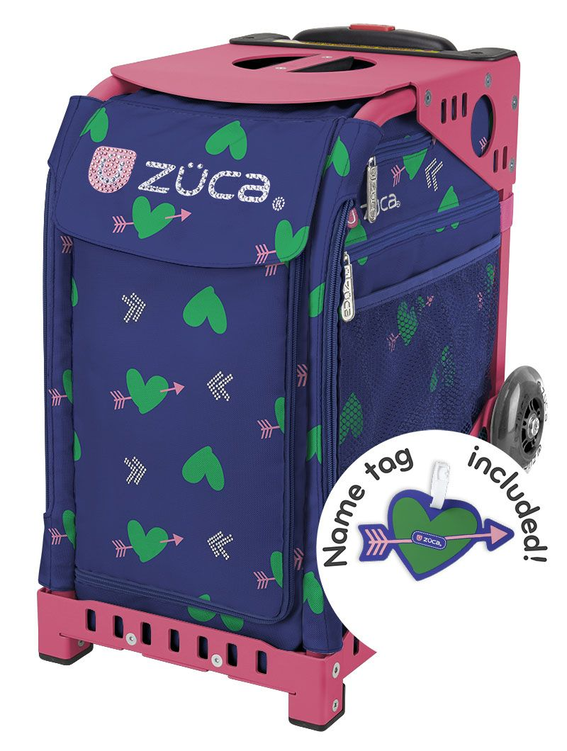 zuca pink frame with cupid insert love is in the air this on - Zuca Frame