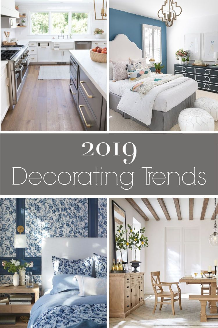 My favorite 2019 decorating trends! #decoratingideas #trending  #homedecorideas