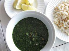 Molukhia Jews Mallow Soup Recipe Food Com Recipe Egyptian Food Food Recipes