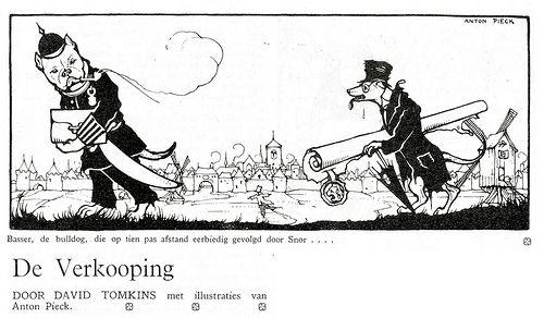 anton Pieck ill de verkooping a 1924
