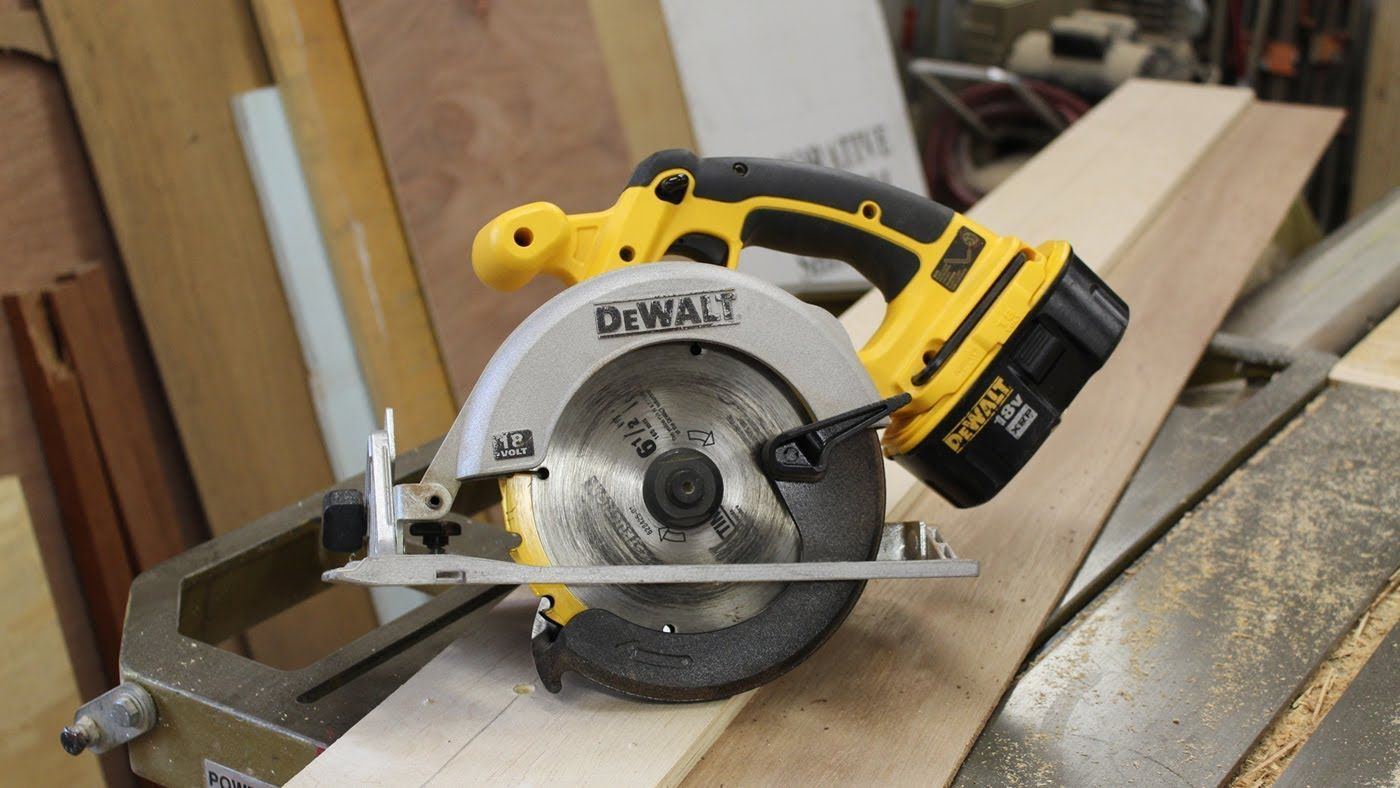 Woodworking How To Make A Rip Fence Jig For A Circular Saw