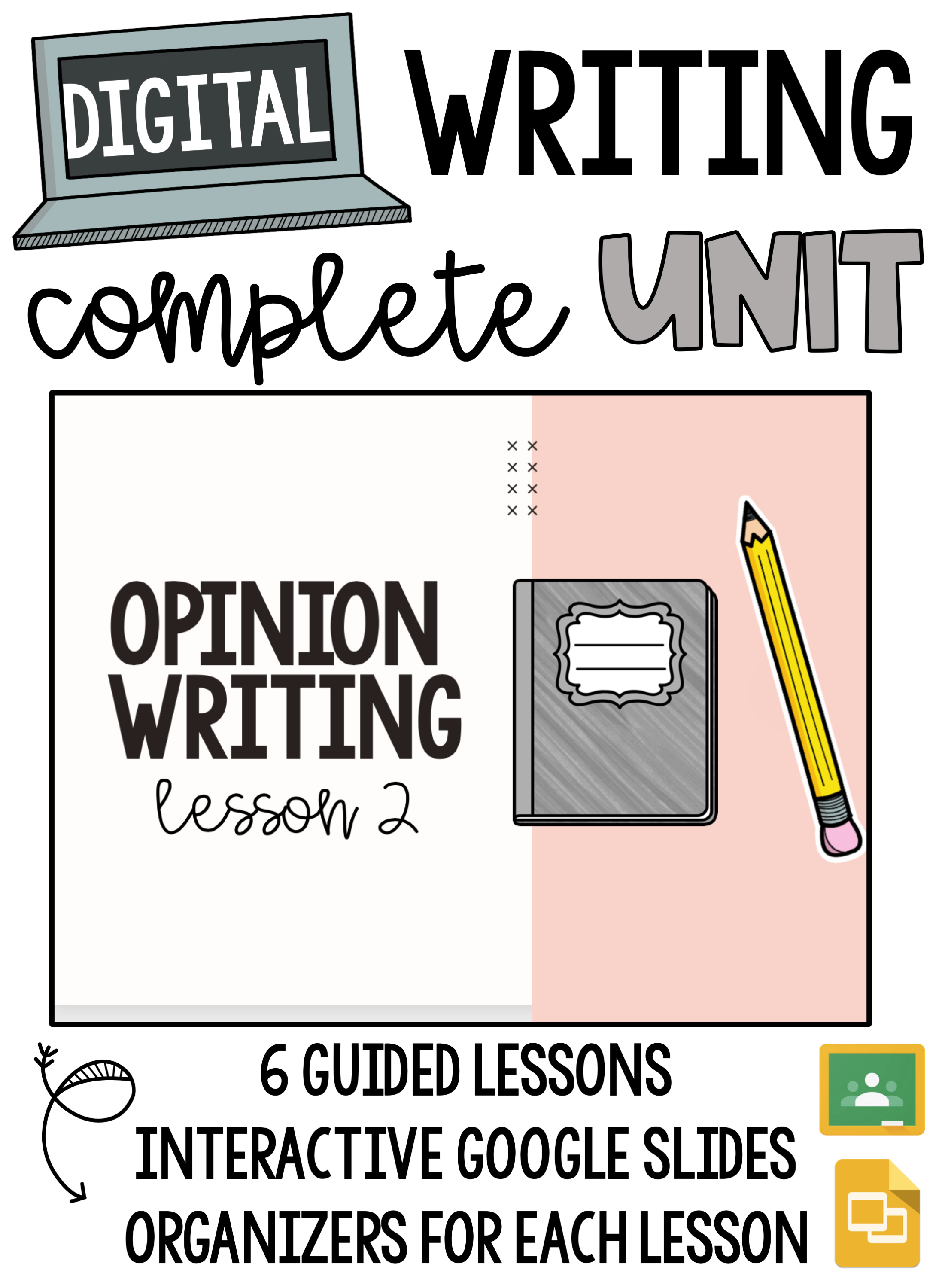 Distance Learning Opinion Writing Unit Google Classroom Printable Opinion Writing Opinion Writing Unit Opinion Writing Activities [ 2999 x 2194 Pixel ]
