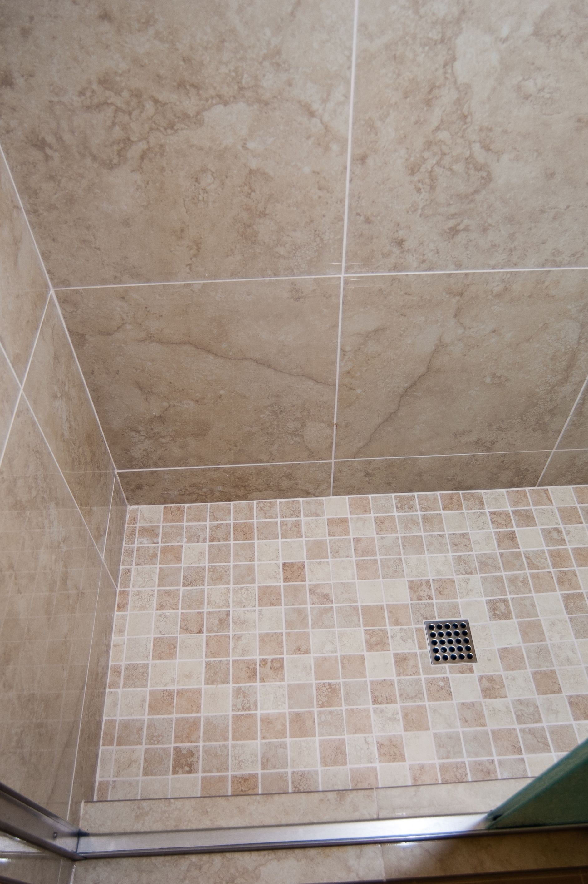 Bathroom Remodel Photos Bathroom Remodel Inspirations Pinterest - 2x2 mosaic tile for shower floor